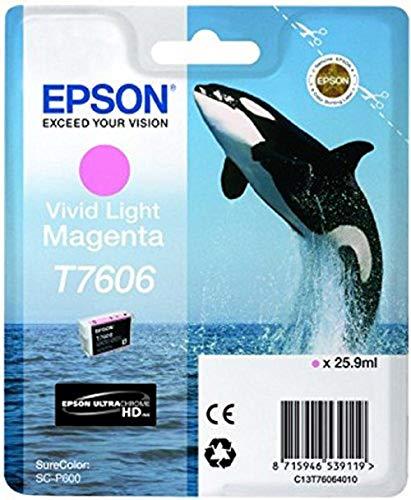 Epson T76064010 Tintenpatronen 26 ml, hell magenta