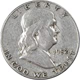 1952 S Franklin Half Dollar AG About Good 90% Silver 50c US Coin Collectible