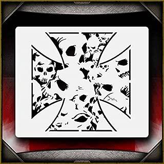iron cross stencil