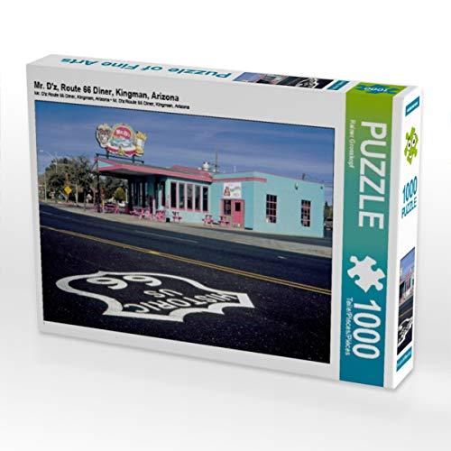 CALVENDO Puzzle Mr. D'z, Route 66 Diner, Kingman, Arizona 1000 Teile Lege-Größe 64 x 48 cm Foto-Puzzle Bild von gro