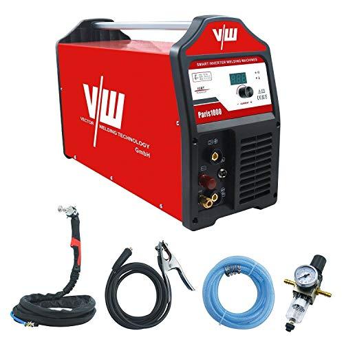 Plasmaschneider Plasmaschneidgerät Plasmacutter Cut Cutter mit 100 Ampere   Schneidet bis 40 mm - Pilotzündung (Kontaktlos) - digi. Anzeigendisplay - 400 Volt von Vector Welding