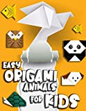 EASY ORIGAMI ANIMALS FOR KIDS: step by step instruction, colorful.