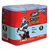 KIMBERLY CLARK CORP 75180 6-Pack Original Show Towels ROLL, Blue