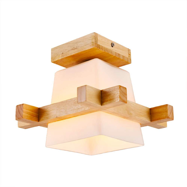 Leuchte Kronleuchter Deckenleuchte LED Leuchte Deckenleuchten Lampe Deckenleuchte Massivholzlampen Leuchte Tatami Deckenleuchte Holzleuchte Holzlampen Koreanisch für Arbeitszimmer, Schlafzi
