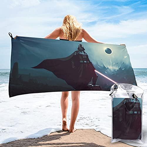 JJKKFG-H Adventure Star Of War Toalla de secado rápido, ligera, para toallas de baño suaves para piscina, natación, viajes, silla de playa 27.5' X55