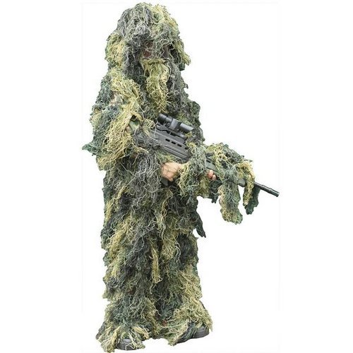 Edge Wholesale Youth Woodland Ghillie Suit (Multiple Size Options)