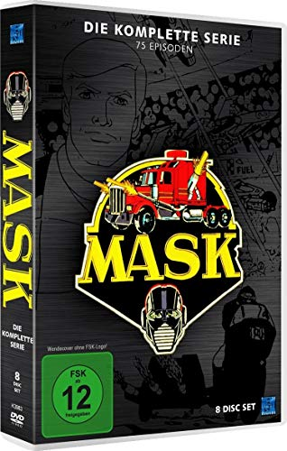 M.A.S.K - Die komplette Serie - (New Edition im 8 Disc Set)