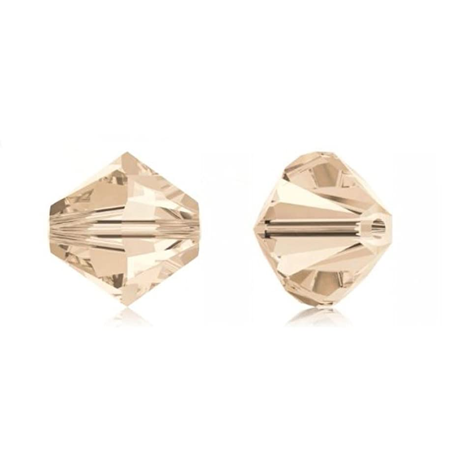 25pcs 8mm Swarovski Crystals 5328 Xilion Bicone Crystal Beads for Jewelry Craft Making (Silk) SWA-B850