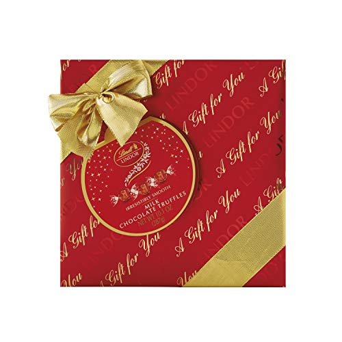 Lindt Holiday Milk Chocolate Truffles - 10.1oz