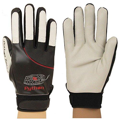 Python Deluxe Handball Glove (Pair) (Unpadded) (w Strap) (Medium)