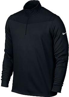 Nike Golf Dri-FIT 1/2-Zip Long Sleeve Men's Training Top 873171 010 (l) Black