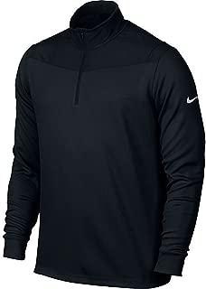 Nike Golf Dri-FIT 1/2-Zip Long Sleeve Men's Training Top 873171 010 (m) Black