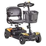 Drive Medical Scout Compact Travel Power Scooter, 4 Wheel, Extended...