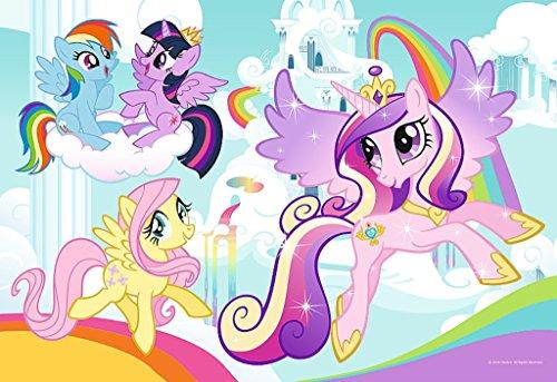 Trefl - puzzel om in te kleuren 2 pagina's onder licentie My Little Pony 20-delig, 36516u