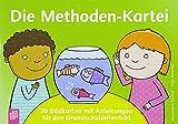 Die Methoden-Kartei: 30 Bildkarten mit Anleitungen für den Grundschulunterricht