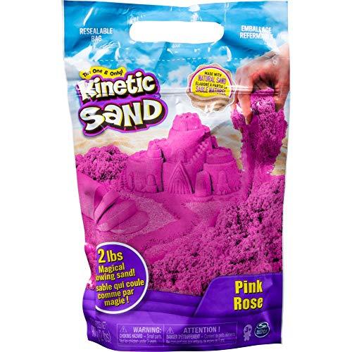 Kinetic Sand 907 g Beutel mit magischem Indoor-Spielsand pink
