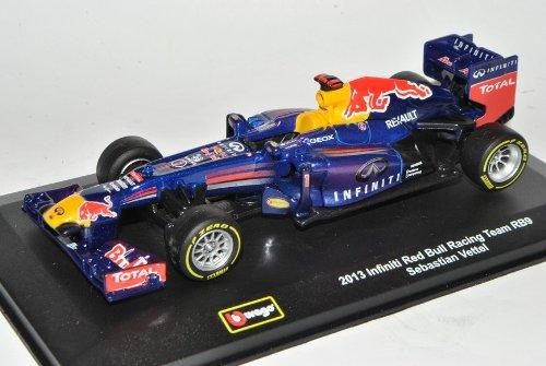 Bburago Sebastian Vettel RB9 Infiniti Red Bull Racing Team Formel 1 Weltmeister 2013 1/32 Modell Auto