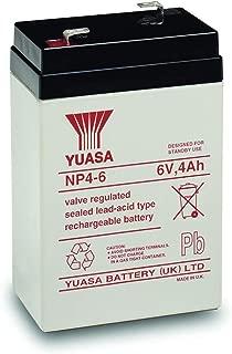 Yuasa 6V 4AH AGM Lead Acid Battery