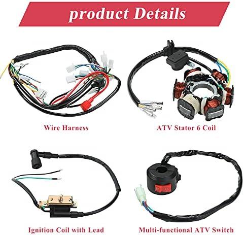 110cc chinese atv wiring harness _image1