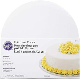 Wilton WI2104-129 12-Inch Cake Circle, 8-Pack
