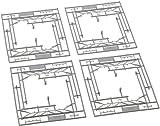 Kato 7078521 - Oberleitungsmasten, 2-gleisig, 8 Stück -