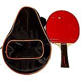 Lpinvin Paleta De Ping Pong Una Completa con Todo Incluido Raqueta Raqueta Terminado Tabla Raqueta de Tenis de 15x25cm Mesa De Ping Pong Ping-Pong (Color : Multi-Colored, Size : 15X25CM)