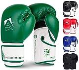 AQF Guantes De Boxeo para MMA Muay Thai Boxing Bag Guantes Boxeo De Kick Boxing Saco De Boxeo De Pie Y...