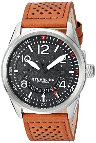 Stührling Original Men's Aviator Stainless...
