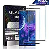 JKPNK Galaxy Note 10 Screen Protector Glass [2 Pack], Full...