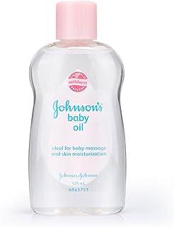 Johnson's Baby Oil Regular, 125ml