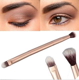 2 in 1 One Makeup Eye Powder Foundation Eyeshadow Blending Double-Ended Brush Pen 2in1ワンメイクアップアイパウダーファンデーションアイシャドウブレンディングダブルエンドブラシペン