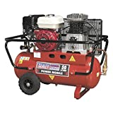 Sealey Compressor 50ltr Belt Drive Petrol Engine 5.5hp Air Compressors Sa5055