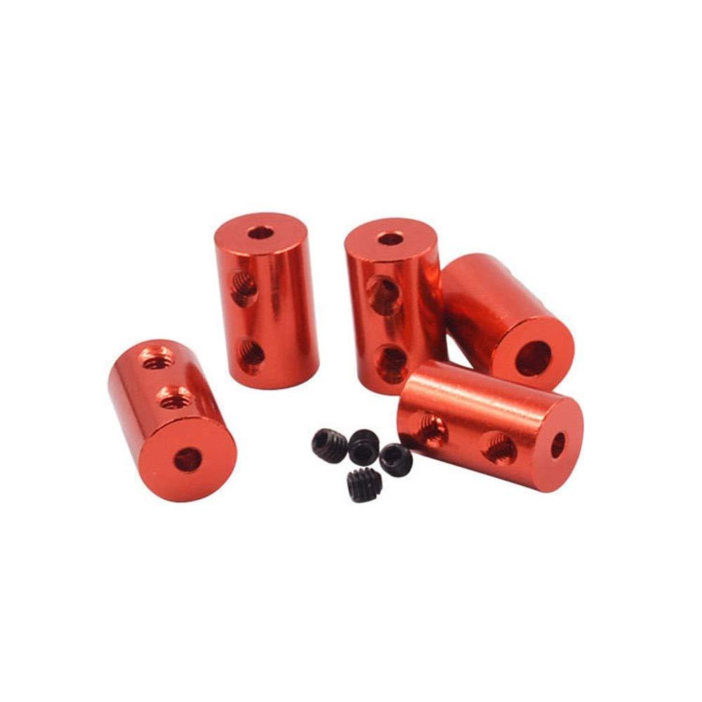 Inner Diameter: Gold 2X2.3 Power Transmission 10Pc D12L20 Aluminum Alloy Coupling Bore 5X5mm 5X6mmdiameter 12mm Length 20mm 3D Print Part Flexible Shaft Coupler Stepper Motor