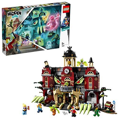 LEGO Hidden Side 70425 Newbury Haunted High School Construction Big Set, AR Lego Games con aplicación Lego, Juego Interactivo de Realidad Aumentada Fantasma, Regalos para niños y niñas de 9 años