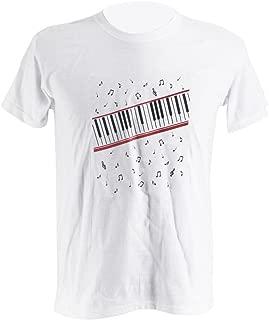 Therller9 Rare Michael MJ Shirt MJ Piano Beat It MTV Casual Cotton Punk T-Shirt Tee