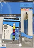 Daler Rowney 134500060 - Simply Watercolour A4 Art Set -