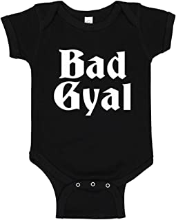 Indica Plateau Baby Romper Bad Gyal 100% Cotton Infant Bodysuit