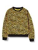 blue seven Mädchen Sweatshirt Mit Animal-Print Camisa Manga Larga, Amarillo (Dotter Orig 162), 164 para Niñas