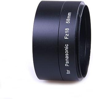 DMC-FZ//DMC-FZ38/pour r/ésolution t/él/é et macro semblable /à DMW-LA3E Noir DMC-FZ28 Impulsfoto Tube Adaptateur pour Panasonic Lumix DMC-FZ18