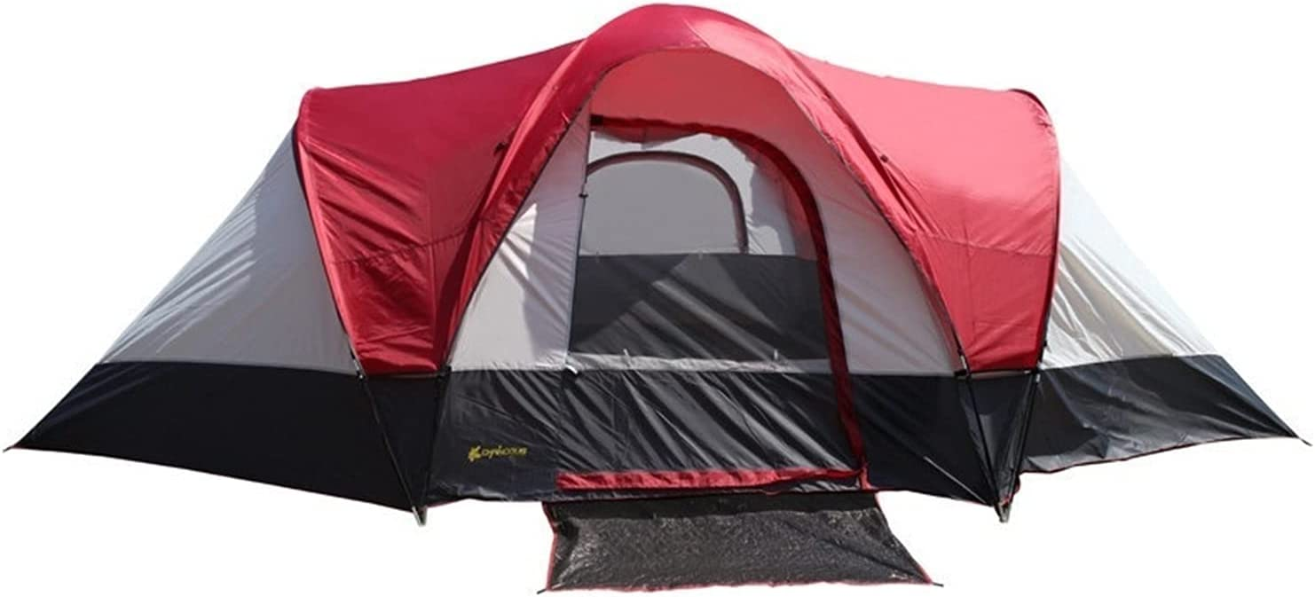 YSJJYQZ Tents Direct sale of manufacturer Large Tent 5-8 Discount mail order Person Room Two One Bedrooms Living