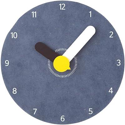 Gran Reloj De Pared Creativo De Dibujos Animados Niños Dormitorio Mute Gráficos Personalizados Reloj De Pared