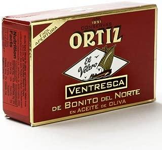 Ortiz Spain Ventresca Tuna In Olive Oil 3.9 oz. Tin