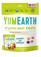 海外直送品YummyEarth Naturals Sour Jelly Beans Family, 10 x 0.7 oz