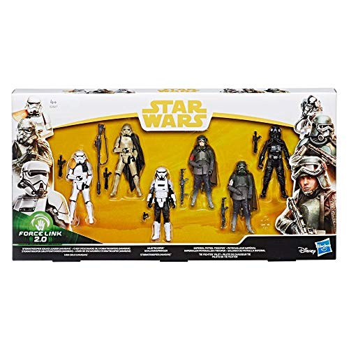 Hasbro Star Wars Solo Force Link 2.0 Action Figure 6-Pack 2018 Exclusive 10 cm