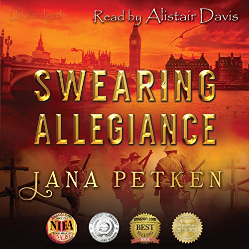 Swearing Allegiance audiobook cover art