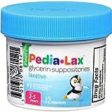 Fleet Children's Pedia-Lax Liquid Glycerin Laxative Suppositories 12ea