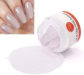 Gray Nail Dip Powder I.B.N Dipping Powder Color (Added Vitamin Protect Nails), 28g/bottle, No Need Nail Lamp Curing (DIP 007)