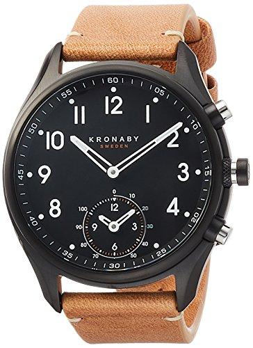 [クロナビー] 腕時計 コネクトウォッチ エーペックス スマホ連動 A1000-1908 正規輸入品 ベージュ
