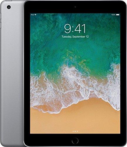 Apple ipad 9. 7-inch retina display with wifi, 32gb, touch id, 2017 mode - space gray (renewed)