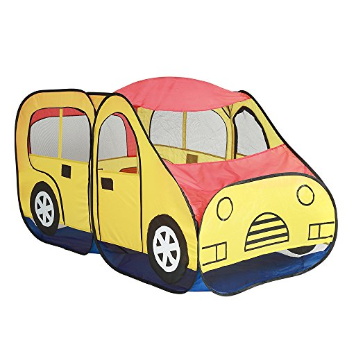 Cartoon van de auto Tent for Kids Indoor Outdoor Play Tent Grote Childrens Tipi tenten voor meisjes en jongens Kids Teepee Tent